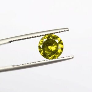 Natural Certified Green Zircon 5.00 Ct. Faceted Round Cut Loose Gemstone