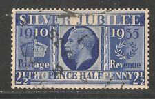 Great Britain #229 (A98) VF USED 1935 - 2 1/2p Silver Jubilee - King George V