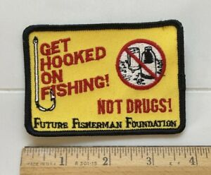 Get Hooked on Fishing Not Drugs! Future Fisherman Foundation Souvenir Patch
