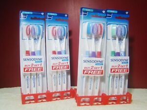 Sensodyne Sensitive Soft Bristles Soft Toothbrush GSK Lot of 12 Free Ship