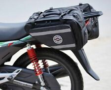 RAC3  Motorcycle Saddle Bags Set of 2 Expandable Throw Over Panniers TRL Luggage