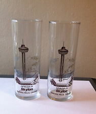 SET OF 2 CP CANADIAN PACIFIC HOTELS SKYLON NIAGARA FALLS ONTARIO CANADA GLASSES