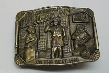 The Great American Buckle Co. American Policeman on the Beat 1940 Belt Buckle