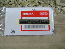HONDA FRAME DECAL LABEL NAMEPLATE XR75 EARLY MODELS (1973 - 1976)