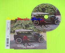 CD Singolo GIANNI MORANDI Andavo a cento all'ora 1962 Italia BMG mc dvd (S9)