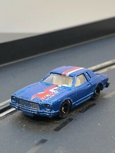 UNBRANDED 1/64 SCALE DIE-CAST BLUE METALLIC 1974-1978 FORD MUSTANG II M/I CHINA