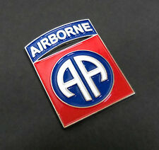 US Army 82nd AIRBORNE DIVISION Shoulder Sleeve Insignia Metal Badge Pin