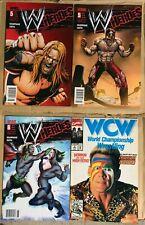WWE  Heroes COMIC Lot Wrestling 2010 #5 #6 WCW #3 Jericho Roddy Piper Triple H
