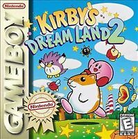 KIRBY'S DREAM LAND 2 GAME BOY COSMETIC WEAR