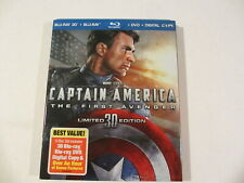 Captain America: The First Avenger Limited 3D Edition Blu-Ray + DVD