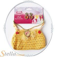 filles Princesse Disney Belle Sac avec bijoux accessoire déguisement