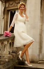 Tiffany Rose Maternity Dress - Freya Dress short (Ivory) Size 4 (UK 14-16)