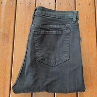 NYDJ Not Your Daughters Jeans Size 8 Black Straight Leg Womens Casual