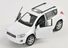 Livraison rapide toyota rav 4/rav4 blanc/white welly modèle auto 1:34 NOUVEAU & OVP