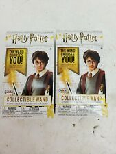2pc Harry Potter 4 inch die-castcollectible wand by jakks pacific NEW in boxes