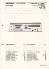 Blaupunkt-c-150 7629170-servizio clienti carattere Manual grafico-b3226