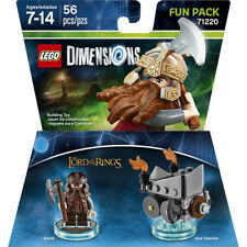 LEGO Dimensions 71220 - Lord of the Rings : Gimli Fun Pack