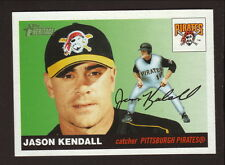 Jason Kendall--2004 Topps Heritage--SP Old Logo--Pittsburgh Pirates