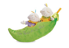 Snuggle Pods Two Peas in a Pod Plush Baby Toy Manhattan Toy NEW