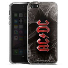 Apple iPhone 5 Silikon Hülle Case - ACDC White Dust