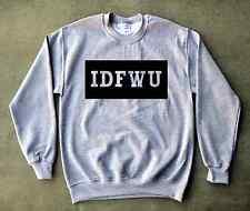 IDFWU Crewneck Sweatshirt 4 Retro Air Jordan Hologram Baron 1 13 Cool Grey 9 11s