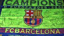 Bandera Flag Fahne BARCELONA Size XL Champions CAMPIONS Europa 2005 2006