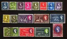 Kenya Uganda Tanganyika 1960 Complete set Fine used SG 183 - 198