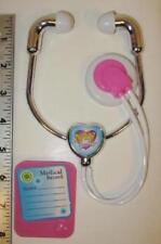"Nurse Doctor Stethoscope & Chart Fits 18"" American Girl Doll Accessories Slvpk"