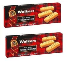Walkers Pure Butter Shortbread Cookies 2 Box Pack
