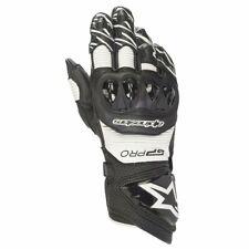 Alpinestars GP PRO R3 Black/White Glove Leather Motorcycle Race Gloves