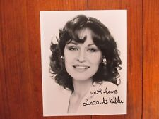 """LINDA G. MILLER(""""Jackie Gleason/Black Picture Show"""")Signed 8 X 10  B & W  Photo"""