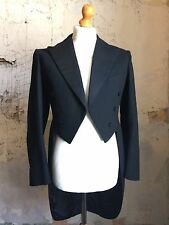 Vintage 1940's White Tie Evening Tails Coat  Size 40 (WT63)