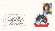 Sally Ride 2018 Forever stamp First Day Cover dual cancellation FDC with booklet