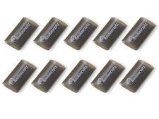 """KnuKonceptz Black 1"""" 0 Gauge 3:1 Heat Shrink Tubing w/ Adhesive Glue - 10 Pack -"""