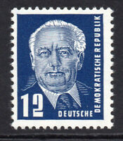 East Germany 12pf Stamp 1952-53 Unmounted Mint Never Hinged (5271)