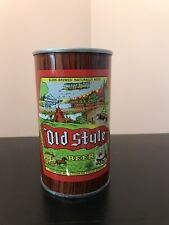 Molson Old Style Pull Top Beer Can