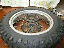 XR 250 HONDA * 1985 XR 250R 1985 REAR WHEEL