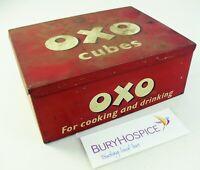 Vintage Oxo Tin c1950s 1960s (WH_11023)