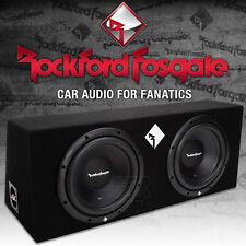 Rockford Fosgate Prime R1-2X10 Dual Gehäusesubwoofer 2x 25cm Bass Subwoofer