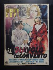 MANIFESTO 2F-IL DIAVOLO IN CONVENTO-GILBERTO GOVI-AVE NINCHI-2548-