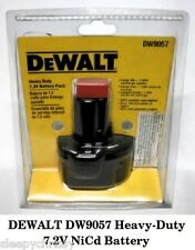 DEWALT DW9057 Heavy-Duty 7.2V NiCd Battery - BRAND NEW
