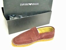 NEW Emporio Armani Men's Shoes Loafers Size 9