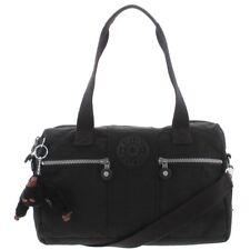 Kipling Izabela Convertible Adjust Satchel Handbag Large Handbag Black Bag New