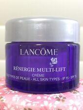Lancome Renergie Multi Lift Day Cream SPF15 No Box 15ml 2016 StockAU Ship Today
