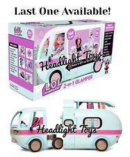 LOL Surprise 2 IN 1 GLAMPER Playset Camper Van House Exclusive Doll OMG In Hand