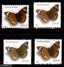#4000, 4001, 4001a & 4002 Common Buckeye set (4 Stamps)  - MNH