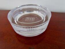 RARE Venezia Salviati Venice Art Glass Bowl Modernist Jutu Svuotatasca NIB