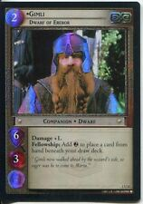Lord Of The Rings CCG FotR Foil Card 1.U12 Gimli Dwarf Of Erebor