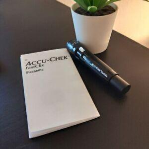 Stechhilfe FastClix ⚠️ ACCU-CHEK ⚠️ Lanzettengerät ⚠️ vom Firma ROCHE ⚠️ NEU ⚠️