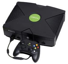 Microsoft Xbox Original Black Console COMPLETE
